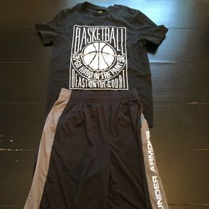 Under Armour/Tek Gear Boys Large Outfit
